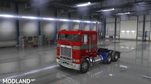 """Optimus Prime"" for Harven's Freightliner FLB by Araym"