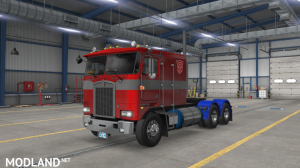 """Optimus Prime"" for Overfloater's Kenworth K100E by Araym, 1 photo"