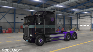 """""""Nemesis Prime"""" for Overfloater's Kenworth K100E by Araym, 2 photo"""
