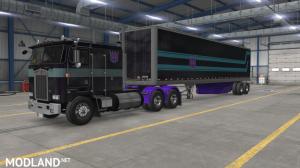 """""""Nemesis Prime"""" for Overfloater's Kenworth K100E by Araym, 5 photo"""