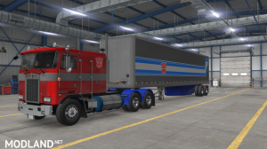 """Optimus Prime"" for Overfloater's Kenworth K100E by Araym, 3 photo"