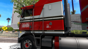 """BJ and The Bear"" truck skin for Kenworth K100E by Araym, 5 photo"