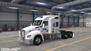 SKIN REAL COMPANY LM TRANSPORT FOR KW T880 FOR ATS 1.37, 1 photo
