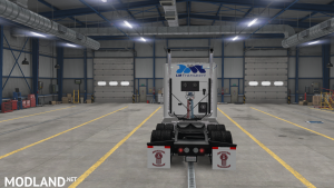 SKIN REAL COMPANY LM TRANSPORT FOR KW T880 FOR ATS 1.37, 2 photo