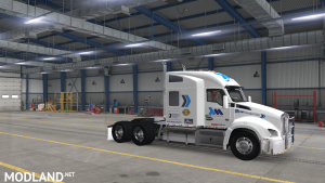 SKIN REAL COMPANY LM TRANSPORT FOR KW T880 FOR ATS 1.37, 3 photo