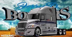 Freightliner Cascadia 2018 Bowers Trucking LLC Skin v 2.0