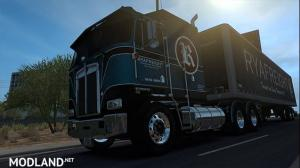 RYAFreight Skin for Kenworth K100-E, 1 photo