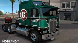 RYAFreight Skin for Kenworth K100-E, 2 photo