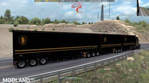 Knight Rider skin for C.A.M.s Bellydeck trailers. ATS 1.37, 1 photo