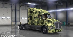 Kenworth T680 Camouflague Skin, 2 photo