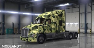 Kenworth T680 Camouflague Skin, 1 photo