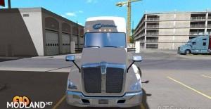 Kenworth T680 Celadon Trucking Skin, 2 photo