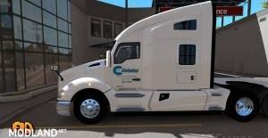 Kenworth T680 Celadon Trucking Skin, 3 photo
