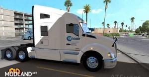 Kenworth T680 Celadon Trucking Skin, 1 photo