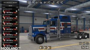 Skin pack 03 for Kenworth W900 Eagle Style by Edison