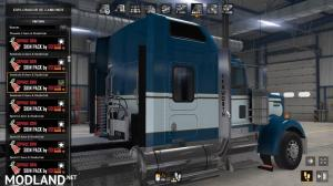 Skin pack 01 for Kenworth W900 Seminole Style by Edison