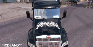 Metallica Skin For Peterbilt, 1 photo