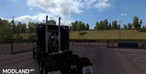 Metallica Skin For Peterbilt, 3 photo