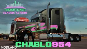 Miami Nights Freightliner Classic XL Skin, 1 photo