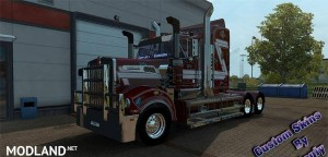 Muscat Skin for the Kenworth T908