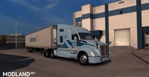 North American Freight Forwarders Skin Pack For T680 V1.0, 4 photo