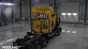 Kenworth T800 CAT Skin, 2 photo