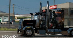 Peterbilt 389 Tom Clancy The Division Skin, 1 photo