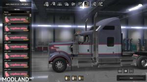 Skin pack 03 for Kenworth W900 by Edison [ATS 1.36.x], 1 photo