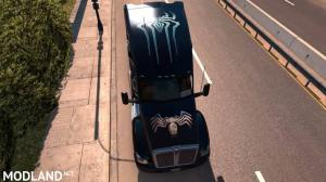 Spiderman Skin for Kenworth T680, 5 photo