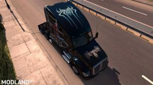 Spiderman Skin for Kenworth T680, 6 photo