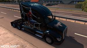 Spiderman Skin for Kenworth T680, 1 photo