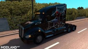 Spiderman Skin for Kenworth T680, 9 photo