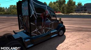 Spiderman Skin for Kenworth T680, 7 photo