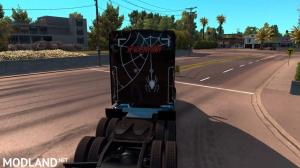 Spiderman Skin for Kenworth T680, 2 photo