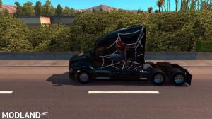 Spiderman Skin for Kenworth T680, 3 photo