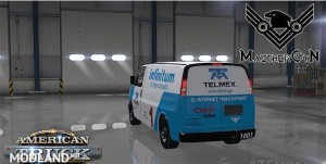 Skin Telmex Chevrolet Express 3500 Mexico MaztherCyN1001, 3 photo
