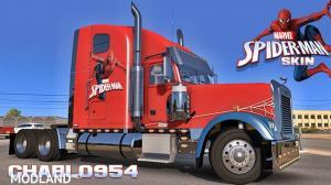 Spiderman Freightliner Classic XL Skin, 1 photo