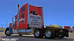 Spiderman Freightliner Classic XL Skin, 2 photo