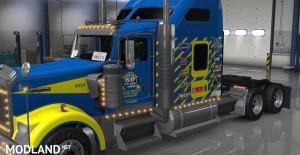 Uncle D Logistics - Goodyear Racing Kenworth W900 Skin, 2 photo