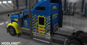 Uncle D Logistics - Goodyear Racing Kenworth W900 Skin, 3 photo