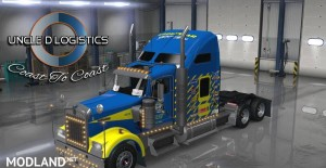 Uncle D Logistics - Goodyear Racing Kenworth W900 Skin, 1 photo