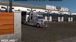Uncle D Logistics ATS VTC Garage Skin 1.33.x, 5 photo