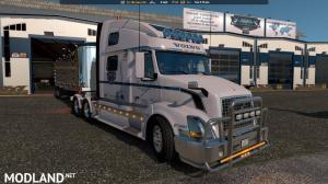 Uncle D Logistics ATS VTC Garage Skin 1.33.x