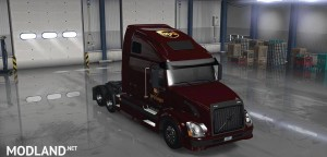 UPS Skin for Volvo VNL 670, 1 photo