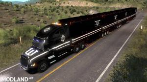 ATS 1.38 - Wayne Enterprises skin for Freightliner Inspiration truck