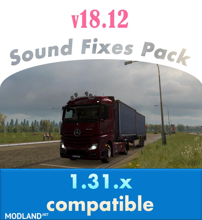 Photos Sound Fixes Pack v 1812 mod