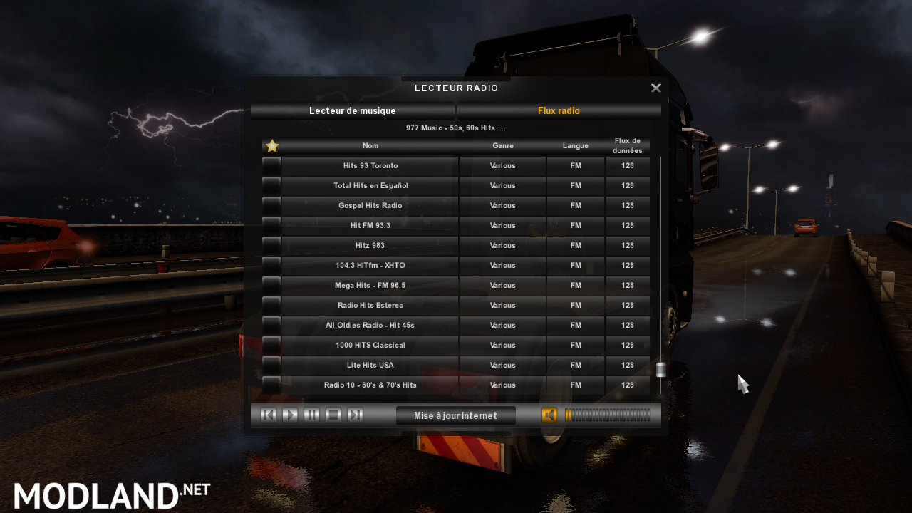 Radio World Music Version 0 1 2 FOR ATS mod for American Truck