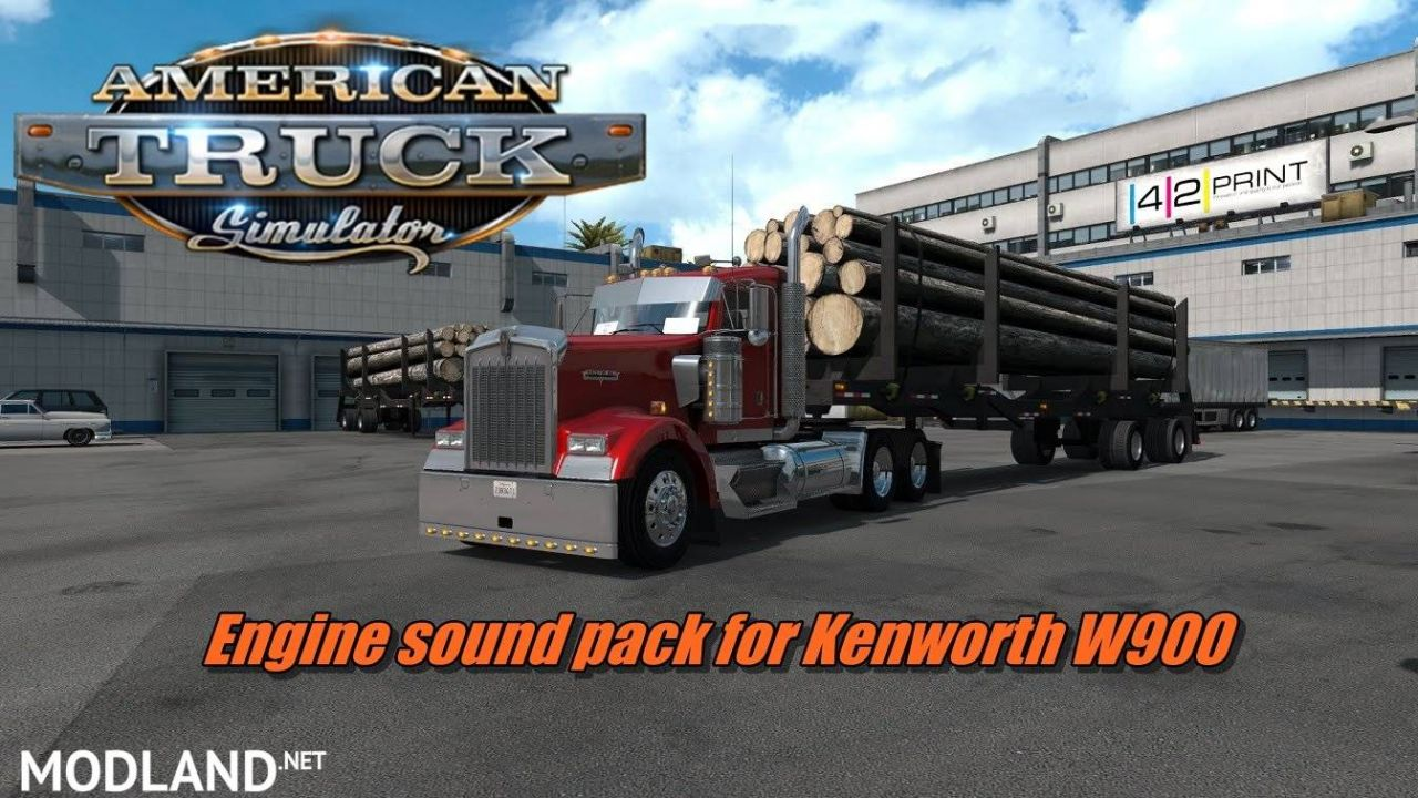 Engine sound pack for T800, W900