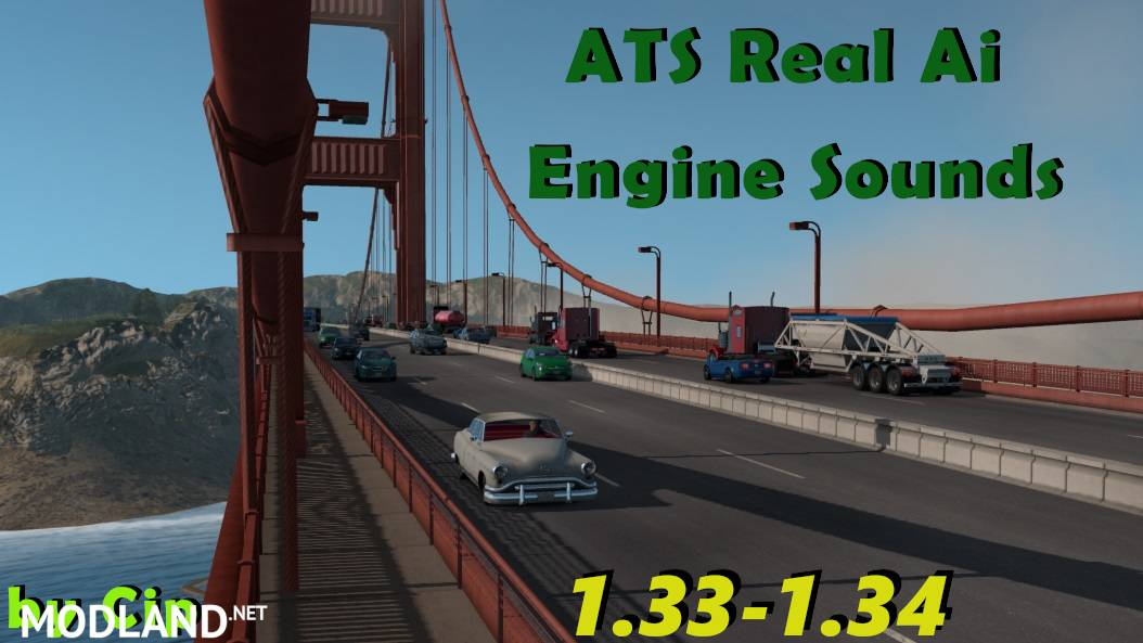 ATS Real Ai Traffic Engine Sounds by Cip [v1.34]