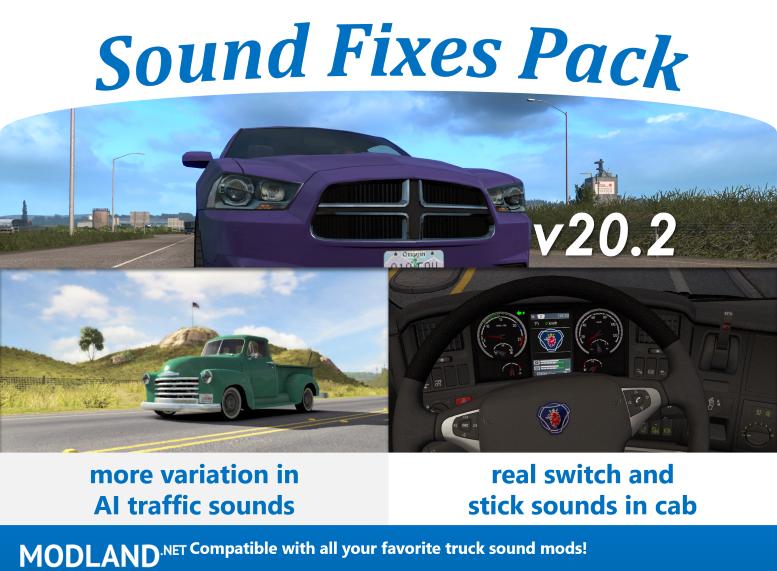 Sound Fixes Pack v20.2 ATS (1.36)